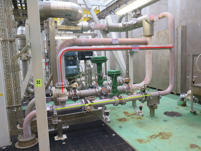 Pipework that calculations can be applied for