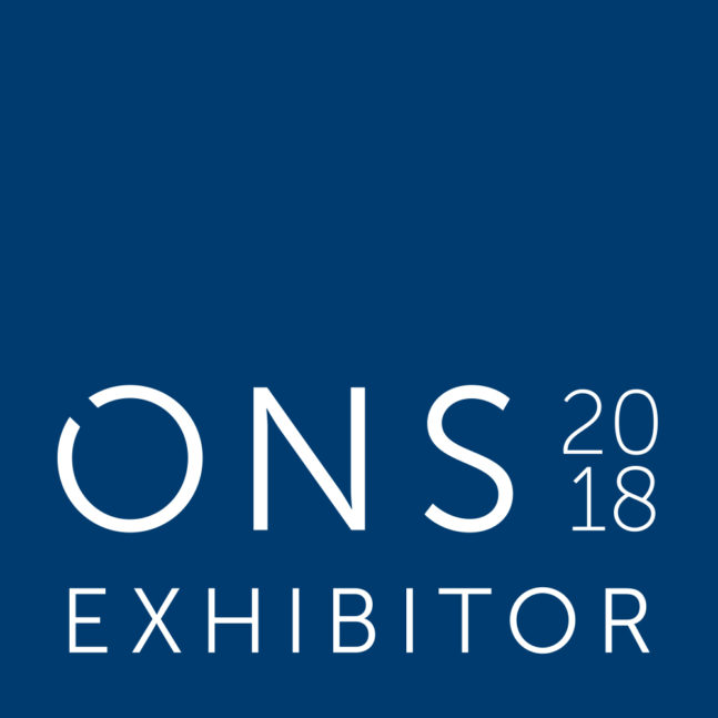 Visit us at ONS 2018