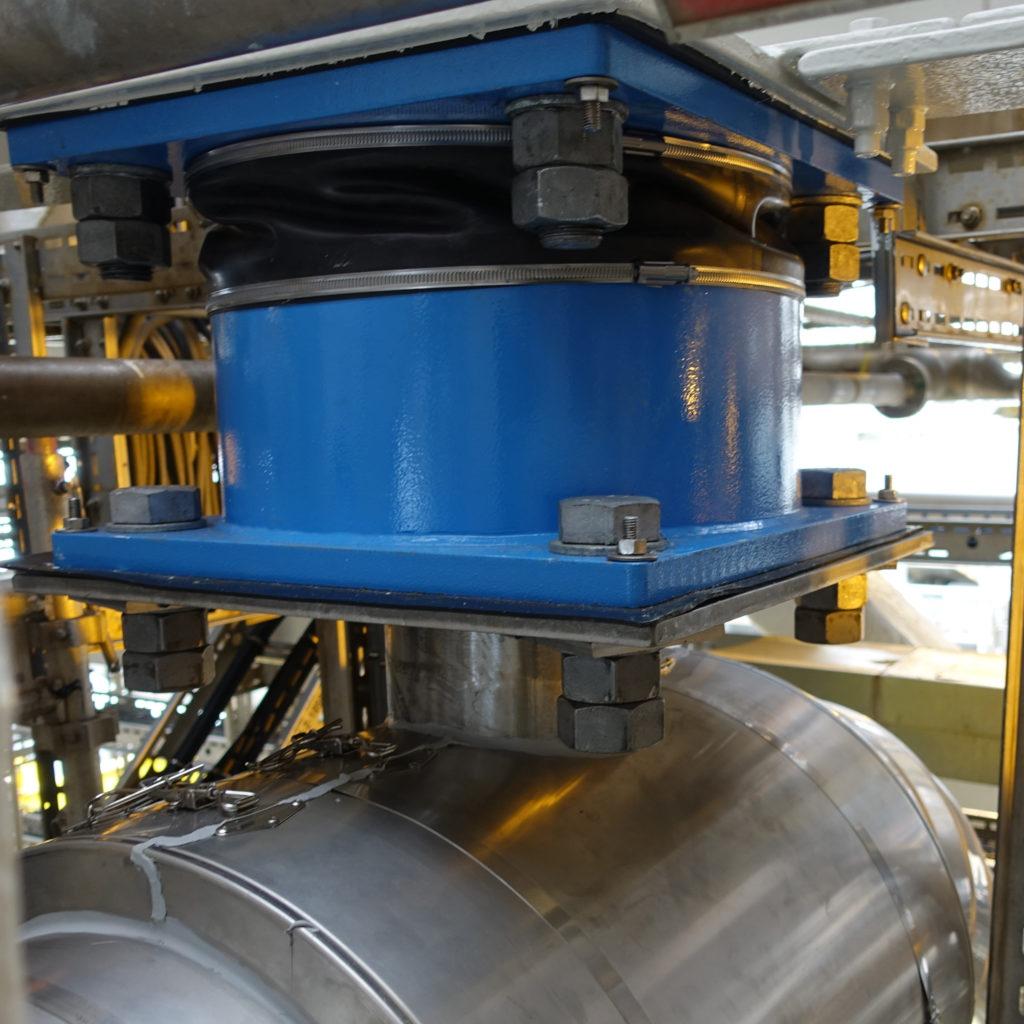 viscoelastic vibration damper offshore vicoda