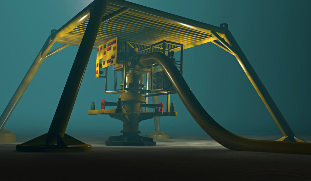 subsea template